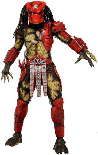 Amazon Com Neca Predators 7 Inch Series 7 Big Red Predator Action