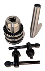 Chuck Overview Customer satisfaction is our number one priority. Do not hesitate to reach out with questions or requests. This is the best drill chuck for the money to use with lathes and drill presses. This is a heavy chuck that is fully mac...