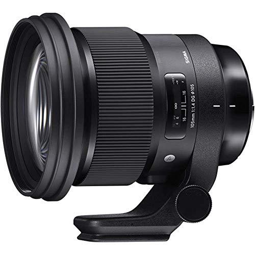 Sigma 259965 105mm f/1.4-16 Standard Fixed Prime Camera Lens, Black