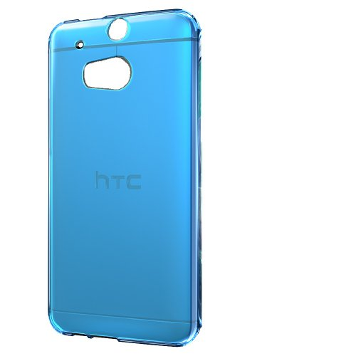 Hyperion HTC The All New ONE PLUS (M8) Phone Case (Compatible with All HTC ONE M8 2014 Models, including HTC One+, HTC One Plus, HTC ONE 2) **Hyperion Retail Packaging** [2 Year Warranty] (MATTE, BLUE)