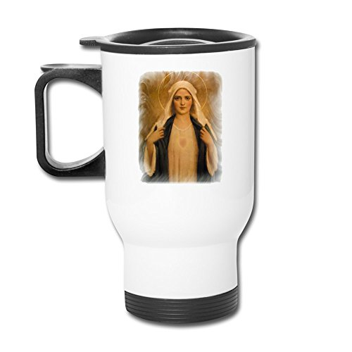 Immaculate Heart Mary Pictures Fashion Portable Outdoor Sports Travel Mug