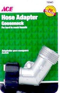 Zinc Gooseneck - Ace Gooseneck Hose Adapter Plated Zinc Casting