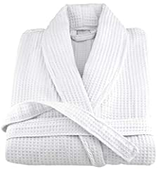 Certified Organic bath robe / SPA robe made in woven waffle fabric. 100% ring spun long staple organic yarn processed to meets the GOTS (Global Organic Textile Standards). The aerospin process makes if yarn smooth, plush and super absorbent. ...