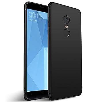 Olliwon Funda Xiaomi Redmi Note 4 / Note 4X, Ultra Slim Silicona TPU Carcasa Anti-Arañazos y Antideslizante 360 Cover Case para Xiaomi Redmi Note 4 / ...