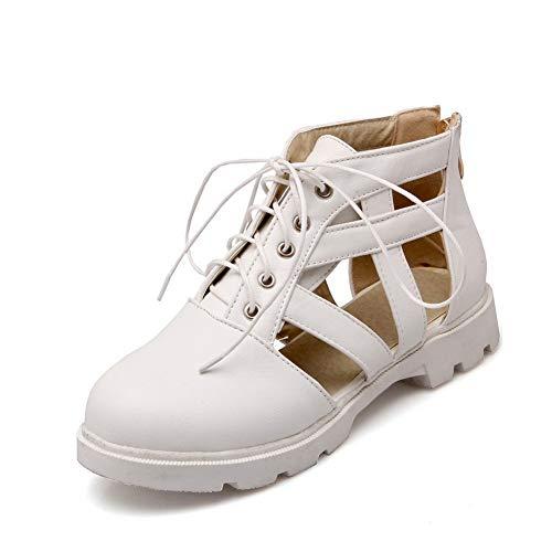 Zeppa White con Bianco Donna Sandali EU DGU00458 AN 35 xFC1w