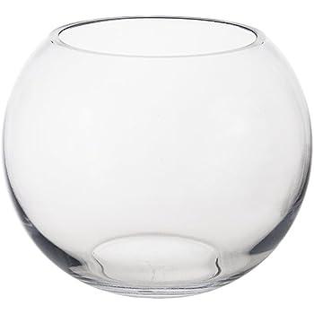 Amazon Mega Vases 7 X 575 Bubble Fish Bowl Glass Vase