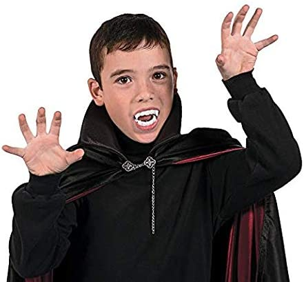 Rhode Island Novelty Plastic Vampire Fangs 144 Pieces
