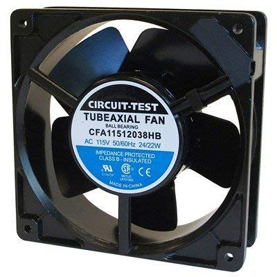 Circuit-Test 115V AC Industrial Cooling Fan con Wire Lead...
