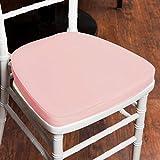 Efavormart Blush Pink Chiavari Chair Cushion