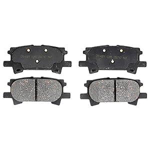 ACDelco 17D996C Professional Ceramic Rear Disc Brake Pad Set