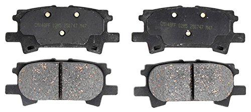 ACDelco 17D996C Professional Ceramic Rear Disc Brake Pad -
