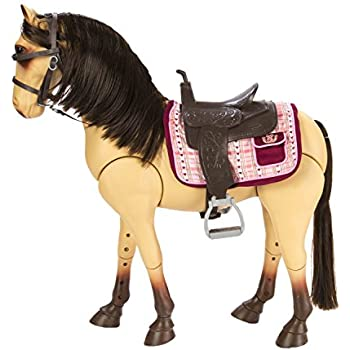 Amazon Com Our Generation Poseable Morgan Horse For 18