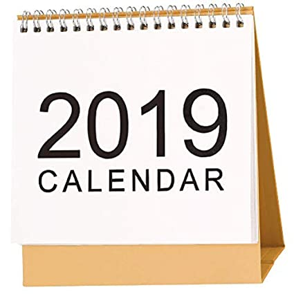 Amazon.com : McDoo! 2019 American Holiday Calendar Desktop ...