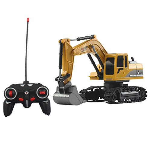 Chenway Rc Truck Remote Control Toys 1/24 6ch 4wd Track Excavator Construction Vehicle