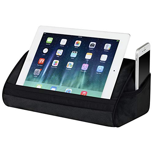 LapGear Original Tablet Pillow Stand - Black - Fits Most Tablet Devices - Style No. 35048