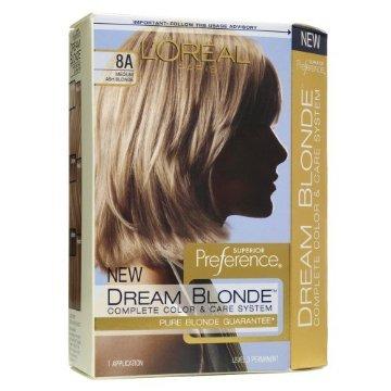 Loreal blondasse de rêve complète cheveux Color System - # 8A mousseux Lotus