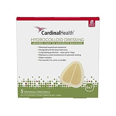 Cardinal Health Hydrocolloid 6in x 7in triangle
