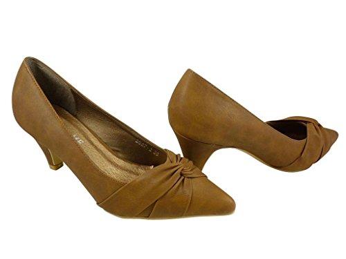 Zapatos marrones Chaussmaro para mujer GLeplom
