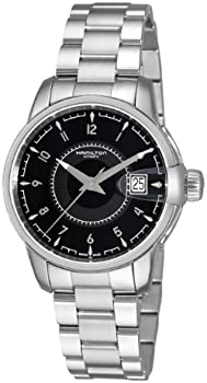 Hamilton H40415135 Rail Road Black Dial Men's Watch