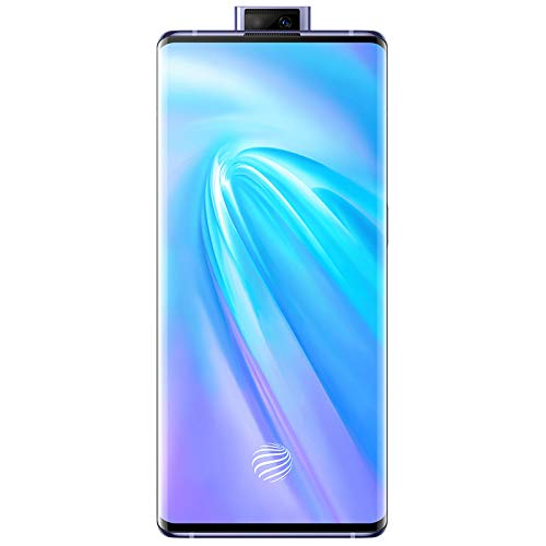 "Original Nex 3(V I V O) 4G LTE Mobile 8G+128GB 6.89"" Super Amoled Snapdragon 855 Plus Android 9 64.0MP 44W Super VOOC 4500mAh NFC Cellphone Support Google by-(Real Star Technology) (Blue 8G+128GB)"