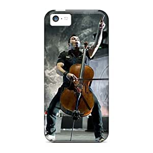 Perfect Cell-phone Hard Cover For Iphone 5c With Provide Private Custom High-definition Apocalyptica Band Image DannyLCHEUNG