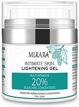 Whitening Cream, Dark Spot Corrector For Face, Intimate Areas, Sensitive Skin - Effective Lightening Cream - Brightens, Moisturizes Armpit, Underarm, Neck, Knees, Elbows, Sun Spots, Age Spots & Melasm