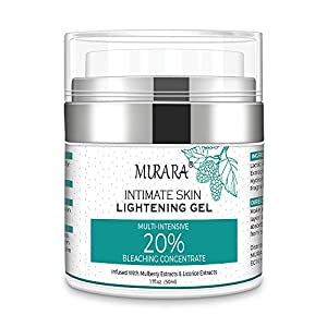 Underarm Whitening Cream,Lightening Cream Effective for Armpit,Neck,Knee,Elbow,Sensitive and Private Areas,Brightens,Nourishes, Moisturizes,Repairs and Restores Skin Bleaching Cream,1.7 Fl Oz
