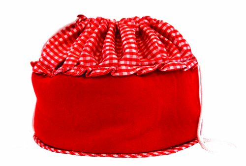 Bun Warmer - Insulated Bun and Bread Warmer and Basket - Keeps Warm for up to One Hour (Red) by Camerons Products (Image #1)