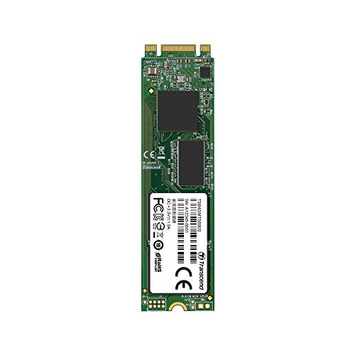 Transcend 64GB SATA III 6Gb/s MTS800 80 mm M.2 Solid State Drive (TS64GMTS800S) by Transcend