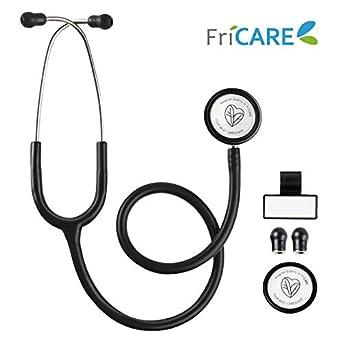 Amazon.com: Estetoscopio de doble cabeza para la medicina y ...