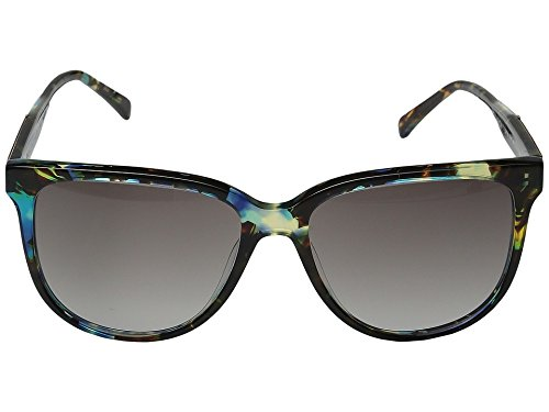 Shwood Women's Mckenzie Blue Opal/Ebony/Grey Fade Sunglasses by Shwood (Image #1)
