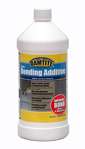 Damtite Waterproofing Damtite 05160 Acrylic Bonding Additive, 1 Quart
