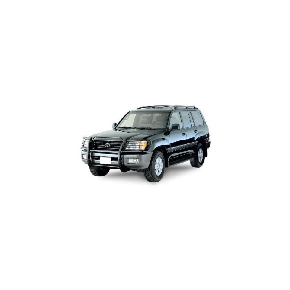 Toyota Landcruiser Black Grille Guard/ Lexus Lx470 Lx 470 Grille Guard Push Bar Brush Black BLACK HORSE 17SG598MA  Fits 1998 2007 Toyota Landcruiser/ LX470 Automotive