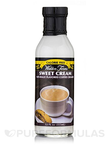 Walden Farms Sweet Cream Coffee Creamer, 12 Ounce (Pack of 6)