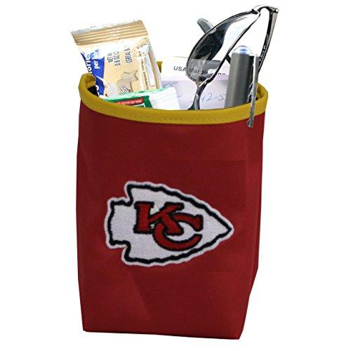 NFL Kansas City Chiefs Logo Car Pocket Organizer - Hangs from Car Vent