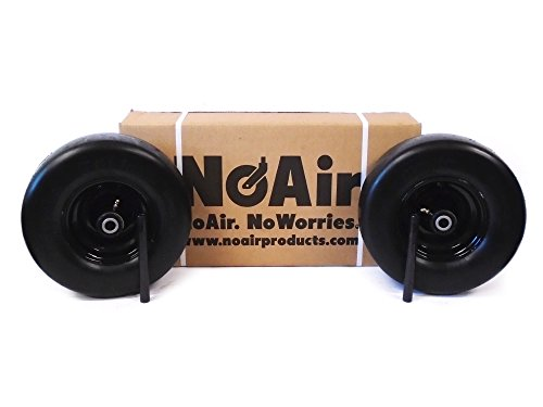 (2) BigDog Flat Free Diablo Alpha MP Stout Wheel 13x6.50-6 605065 605035 Scag by NoAir (Image #2)
