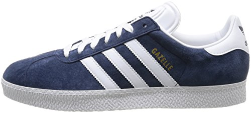 sale retailer 9f156 21abe adidas Originals Gazelle - Zapatillas para hombre, color Marine  (Marineblanc), talla 40 Amazon.es Zapatos y complementos