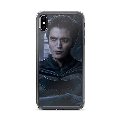iPhone Xs Max Pure Anti-Shock Clear Case The Bat-Man Robert Pattinson