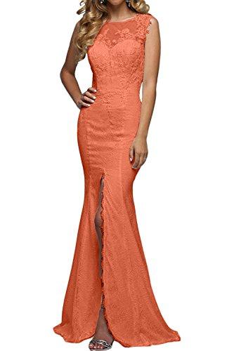 Abendkleider Tanzenkleider Brau Festlichkleider Partykleider Spitze Promkleider Lang La Orange Rock Meerjungfrau mia Elegant Etuikleider vwAAgq