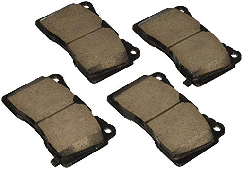 - Akebono Performance ASP1001 Akebono Performance Ultra Premium Ceramic Disc Brake Pad Kit
