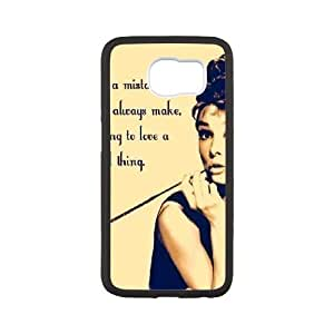 Life margin Audrey Hepburn phone Case For Samsung Galaxy S6 G79KH0841