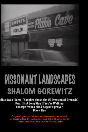 Dissonant Landscapes: Blue Swee, Run, Black Fire, excerpt from blind beggar's prayer ()