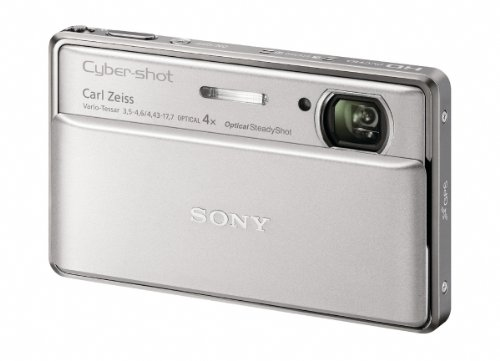3.5 Touch Screen Oled - Sony Cyber-Shot DSC-TX100V 16.2 MP Exmor R CMOS Digital Still Camera with 3.5-inch OLED Touchscreen, 3D Sweep Panorama, and Full HD 1080/60p Video (Silver)