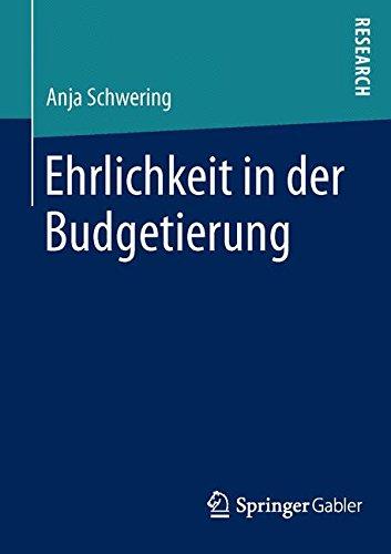 Ehrlichkeit in der Budgetierung