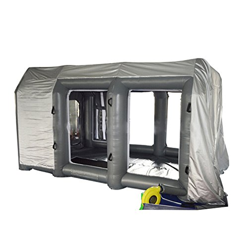 Binglinghua Portable Giant Oxford Cloth Inflatable Spray Booth Paint Enclosure