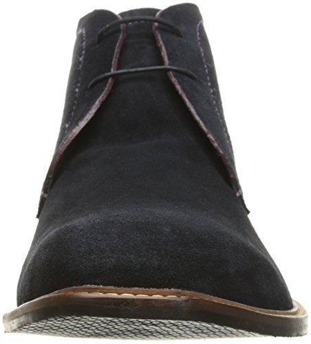 Ted Baker Mens Torsdi 4 Chukka Boots Mörkblå Mocka