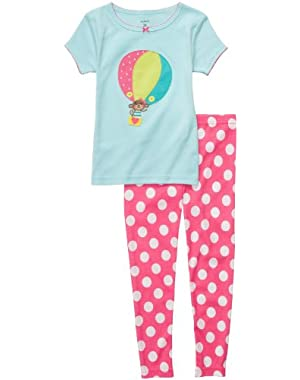 Baby Girl's 2-Piece Cotton