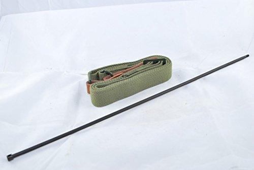 Tacbro - Ak/sks Sling (Heavy Duty), Medium, Green and Ak Cleaning Rod By Tacbro by TACBRO