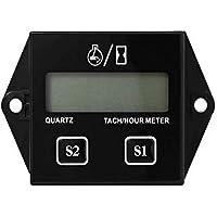 Jayron JR-HM011N LCD Tacómetro inductivo de gasolina Medidor