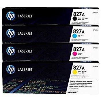 GENUINE HP TONER SET CF300A CF301A CF303A CF302A HP 827A TONER SET FOR Color LaserJet Enterprise Flow M880z M880z+ M880z+ NFC